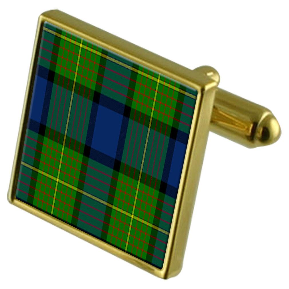 Tartan Tartan Tartan Clan Muir Gemelli in oro 347c51