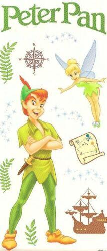 "2 sheets 12 x 5/"" ~RETIRED~ PETER PAN THEME Sandylion SCRAPBOOK Stickers"