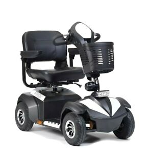 Envoy 4 Heavy Duty Mobility Scooter - up to 30 miles range, 4mph top speed