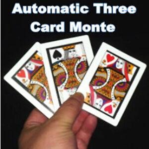 3pcs-lot-Automatic-Three-Card-Monte-Poker-Size-8-8x6-4cm-Magic-Tricks-Card