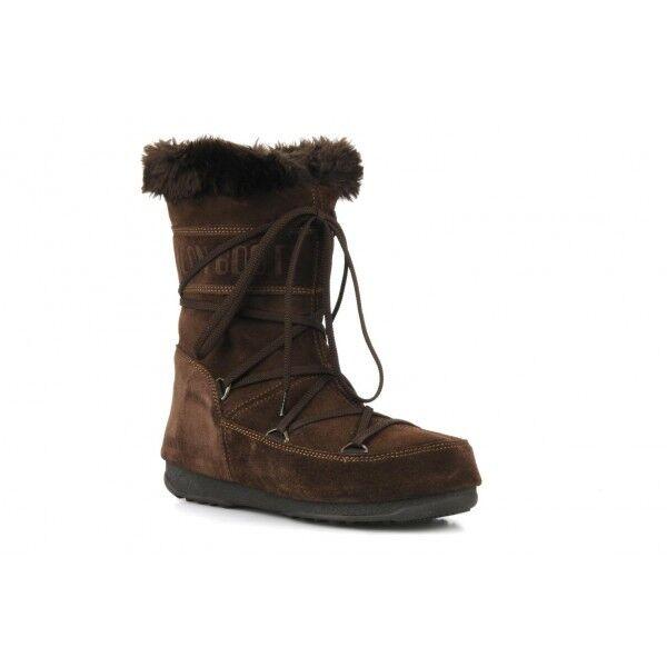 STIVALE DOPOSCI DONNA TECNICA MOON BOOT SNOW W.E. BUTTER MID 24000400 002 BROWN