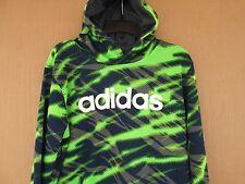 Boys ADIDAS multi-color hoodie sweatshirt size L top shoes kids shrts FREESHIPP