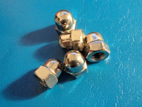 M6 STAINLESS STEEL A2 DOME NUTS QTY = 10