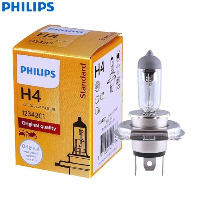 PHILIPS Rally Vision Headlight H4 Globe 12V 55/60W 9003 HB2 12342C1 360° Amber