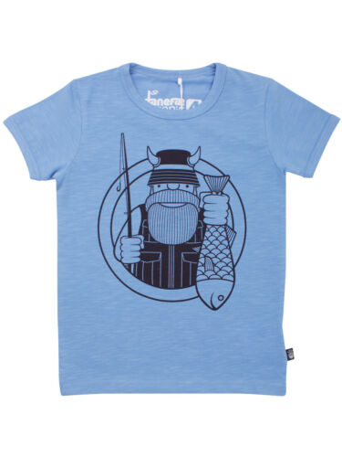 Danefae Organic Merian Tee christal blue T-shirt Erik Fischer