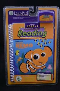 NEW-LeapFrog-LeapPad-Leap-1-Preschool-Grade-1-Reading-Disney-Pixar-Finding-Nemo