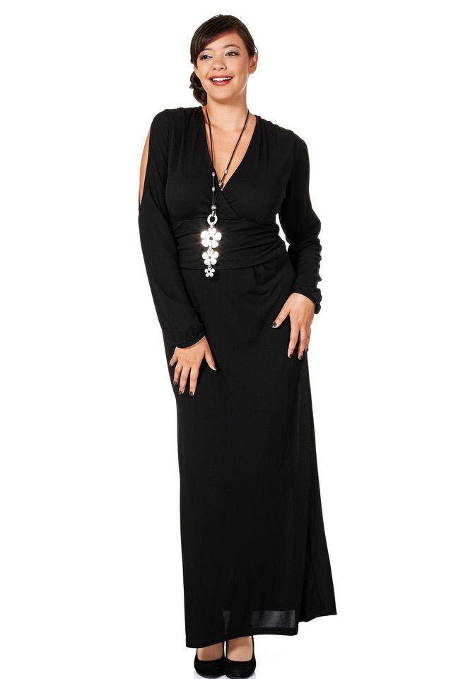 Anna Scholz Designer Abendkleid schwarz Kurz Gr 20 bis 27 Kleid Damen