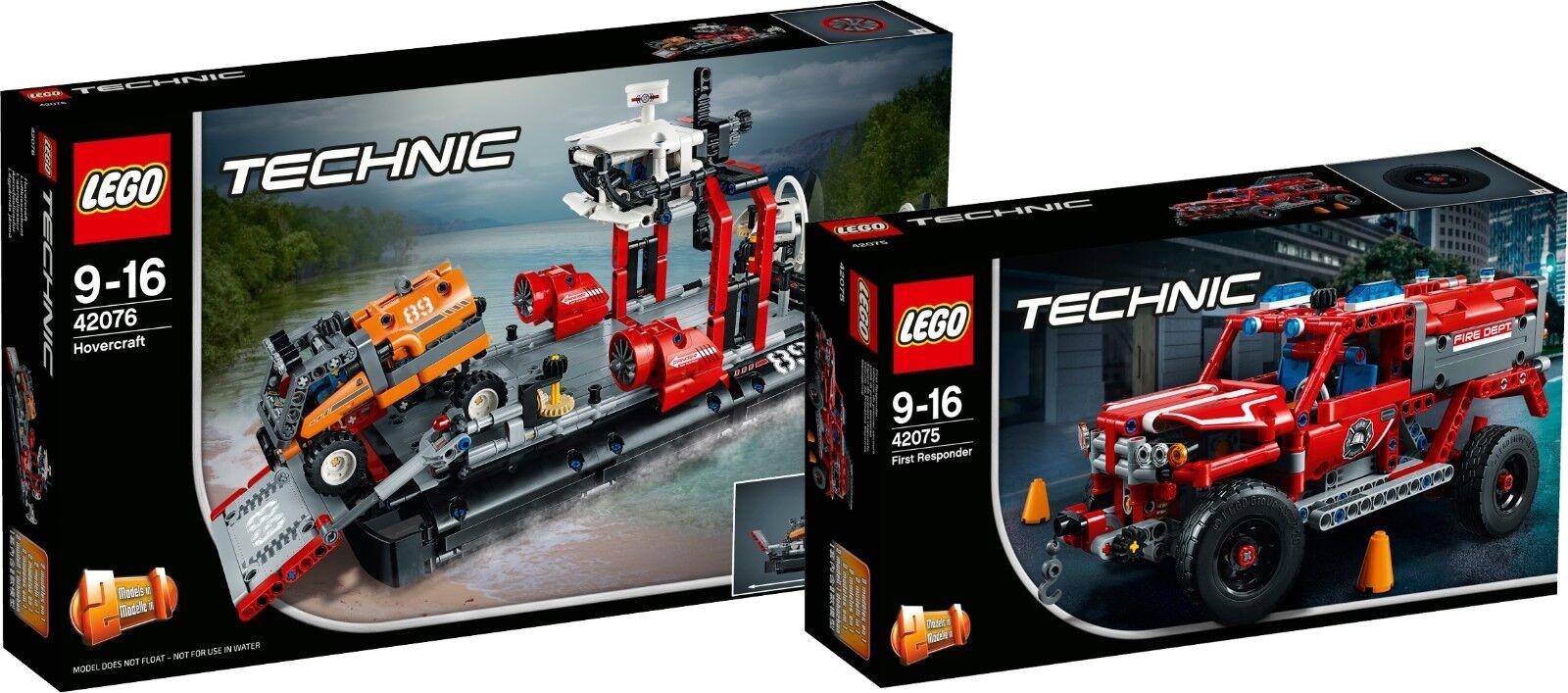 LEGO Technic 42076 42075 LuftkissenStiefel First Responder N1/18