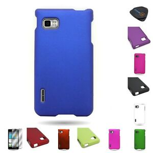 For-LG-Optimus-F3-LS720-Hard-Snap-On-Slim-Various-Color-Phone-Shield-Cover-Case