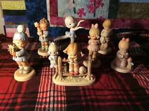 Lot-of-7-Memories-of-Yesterday-Figurines-EXCELLENT-Condition