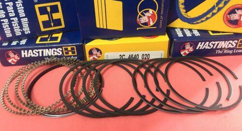Rings+Bearings+Gasket Honda Civic D16 Turbo YCP 75.5mm Vitara Teflon Low Comp.