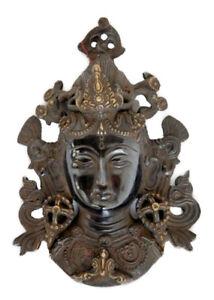 Soprammobile Tibetano Viso Tara a Muro Buddismo Tibetano Peterandclo 1