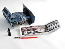 Darth Vader to TIE Advanced vehicle Star Wars / Transformers Crossovers 2005 toy