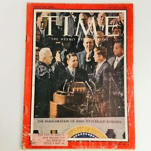 Time Magazine January 27 1961 Vol 77 #5 The Inauguration of John F. Kennedy