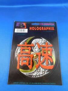 Red Cherry 06174 Holographix Decal Sticker Chroma Car Truck Window