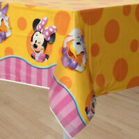 Minnie Mouse Bow-tique Plastic Table Cover Birthday Party Supplies Decorations