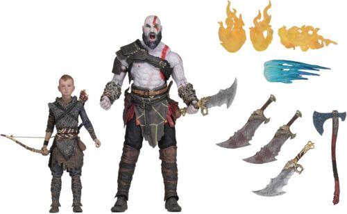 "7/"" Scale Action Figure Set-Ultimate Kratos /& Atrée-NECA 2018 God of War"