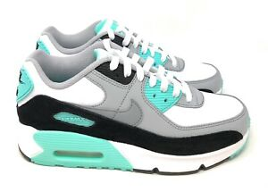 Details about Nike Air Max 90 LTR Big Kids' Shoes White-Light Smoke Grey  CD6864-102