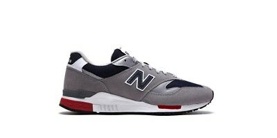 New Balance 840 Classics Men/'s Shoes Grey//Navy//Red ML840-CD