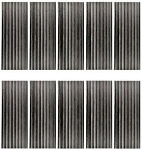 32mm Corrugated Metal Panels For Oo/ho Gauge Model Buildings - Bulk Packs
