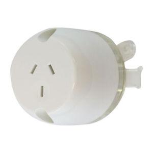 10-x-Surface-Socket-Plug-base-Single-Outlet-White-Electrical-LED-DOWNLIGHTS