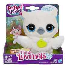 FurReal LUVIMALS BABY GRAND SNOW OWL Sings Makes Sounds Soft USPS PRIORITY TODAY