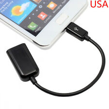 USB Host OTG Adapter Cable For Samsung Galaxy Tab 4 10.1 SM-T530 SM-T531 Tablet