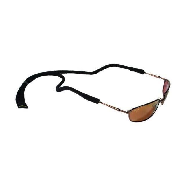Croakies Micro Suiter Eyewear Retainer Adjustable Black For Small Frame(24-Pack)