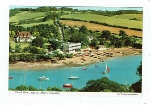 CORNISH POST CARD COLOUR PHOTO  BY J HINDE PERCUIL RIVER No 3DC 228 - St Agnes, Cornwall, United Kingdom - CORNISH POST CARD COLOUR PHOTO  BY J HINDE PERCUIL RIVER No 3DC 228 - St Agnes, Cornwall, United Kingdom