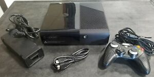 Microsoft-Xbox-360-E-4GB-Gaming-System-BLACK-Video-Game-Console-Bundle-ELITE