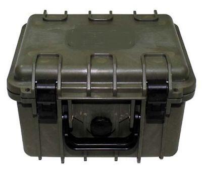 US Plastic Transport Army USMC Box Waterproof 26,7 x 23,9 x17,6 cm Olive