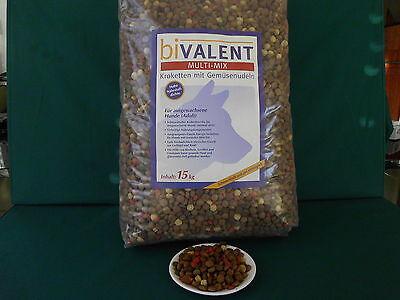 biVALENT Multi Mix 15 kg,Hundefutter trocken für anspruchsvolle Hunde,VERITAS