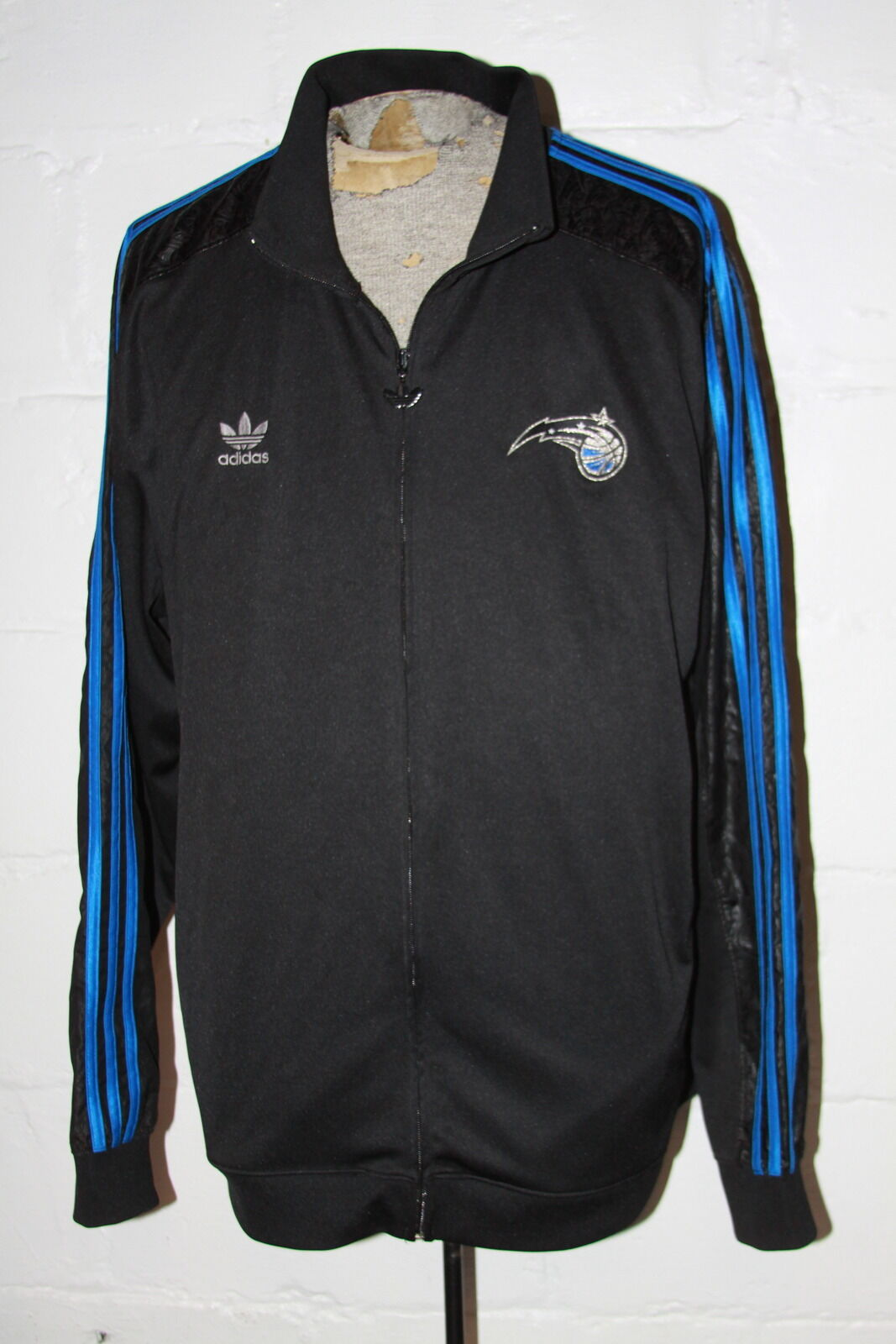 a01300edc EUC Adidas Adidas Adidas Limited Edition NBA Orlando Magic Full Zip Track  Jacket Sz 2XL XXL