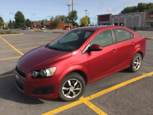 CHEVROLET SONIC 2014 95000 Kms, FREINS NEUF