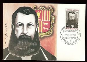Disciplined Andorre Carte Maximum 1977 Guillon D'areny Plandolit O 159 Orders Are Welcome.