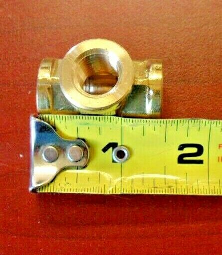 Union Tee,Brass,Push-Fit,5//32in.,PK5 AIGNEP USA 88230-53