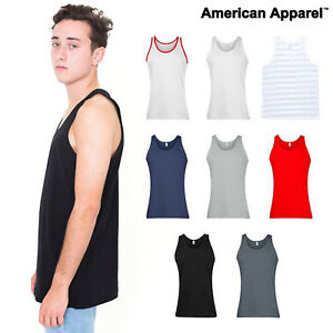 7d62b05ff8 Image is loading American-Apparel-tank-top-2408-Unisex-Vest-Sleeveless-