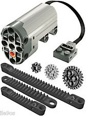 Lego Power Functions SERVO MOTOR + Rack Kit  (technic,gear,crawler,steering,car)