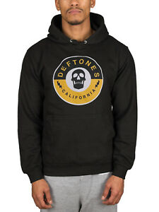 Merch Official Pullover Licensed Black Hoodie Hood Hooded Deftones California Jumper x7H8n7qUga
