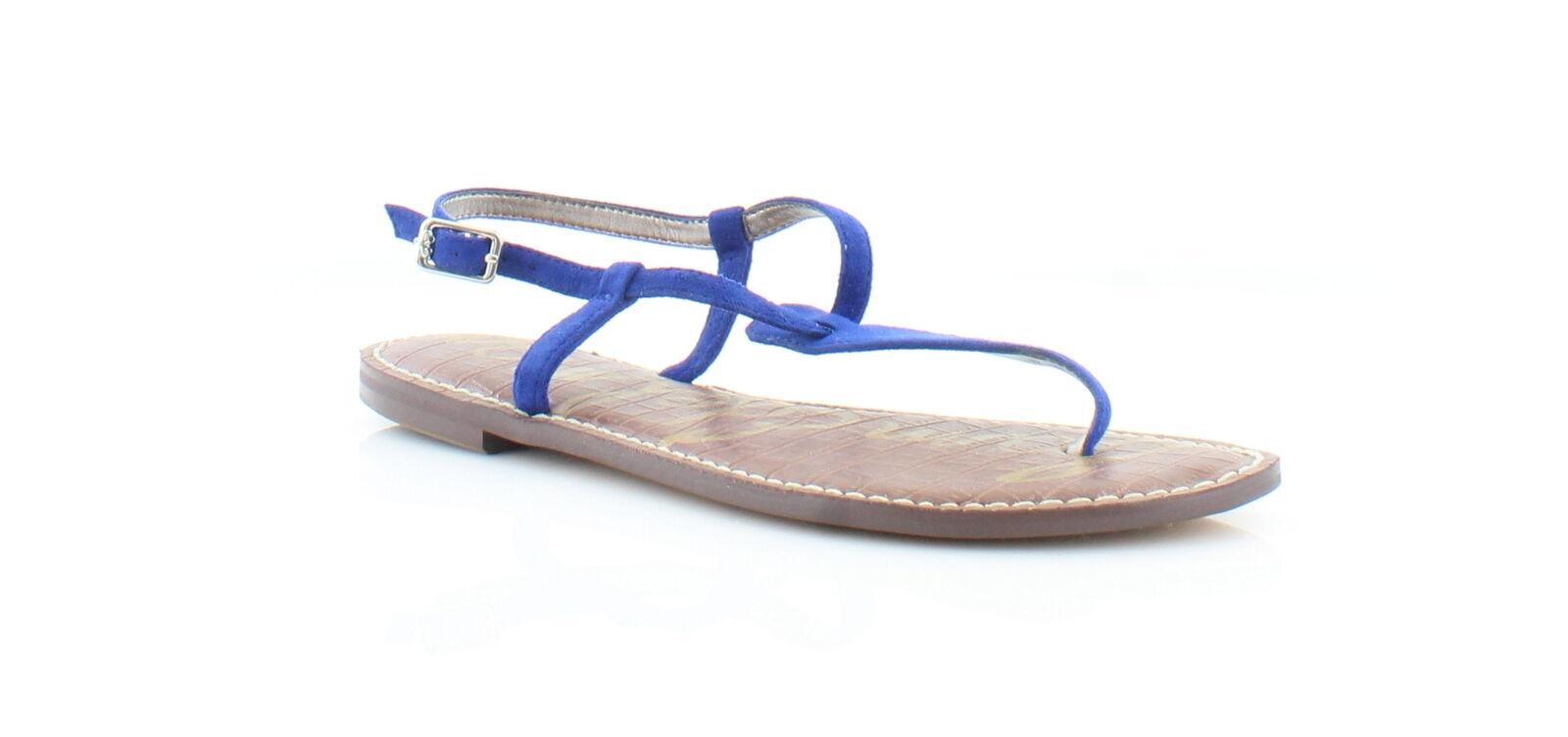 Sam 7.5 Edelman New Gigi Blue Womens Shoes Size 7.5 Sam M Sandals MSRP $60 0aa616