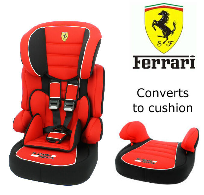 Ferrari Beline Sp Lux UK Baby Child Car Seat 9 Months   12 Years Groups 1