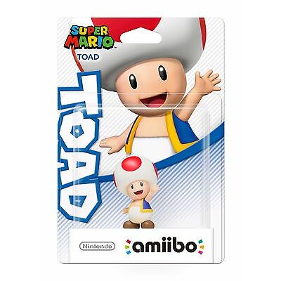 amiibo Toad (Super Mario Collection) - BRAND NEW & DIRECT FROM NINTENDO AUS