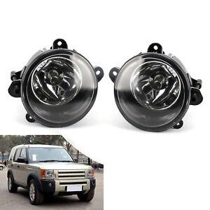 Paire-Feu-Anti-brouillard-avant-Lampes-pour-Land-Rover-Discovery-2-3-Range-Sport