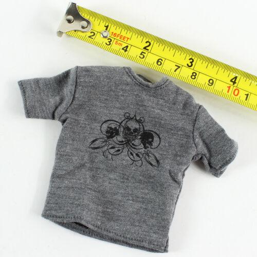 T Shirt TB18-24 1//6 Scale ZCWO Mens Hommes Vol.011