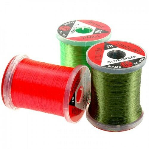 Brilliant Colours PRICE IS FOR TWO SPOOLS Fly Tying Wire UTC Ultra Wire