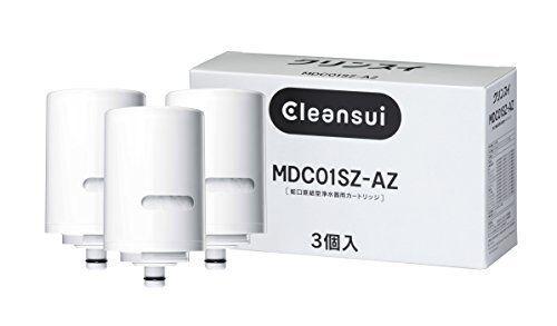 Mitsubishi Cleansui MDC01S×3 MDC01SZ-AZ Cartridge Water Filter Faucet Type JAPAN