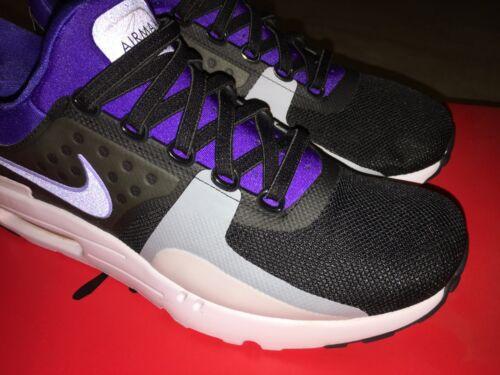 best loved 5bc64 43c9f 6 sur 12 NIKE AIR MAX ZERO QS Black Purple scarpe uomo taglia 44 ITA 10 US  perfette