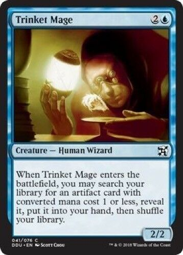 - Elves vs Inventors 041//076 4 x Trinket Mage Common