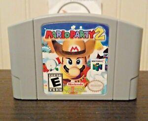 Mario Party 2 N64 EE. UU. versión Nintendo Video Juego De Cartucho