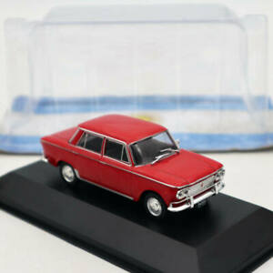 IXO-Altaya-Fiat-1500-1963-Red-1-43-Diecast-Models-Limited-Edition-Collection